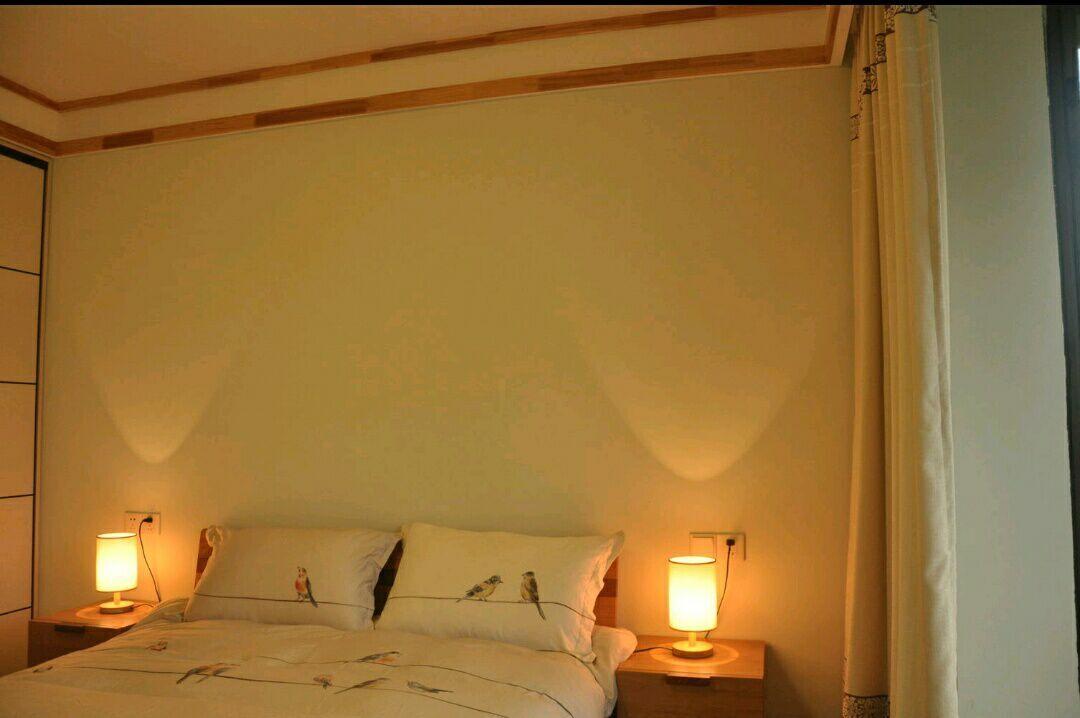 三居 日式 史丹佛公馆 95平 嘉年华装饰 卧室图片来自武汉嘉年华装饰在苹果绿和原木色日式风格的分享