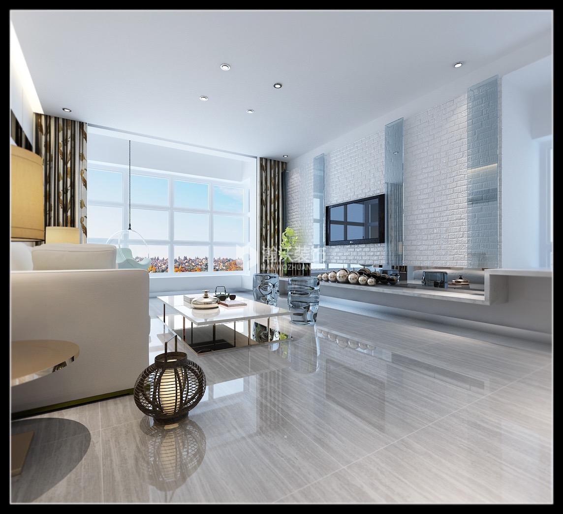后现代风格 阿尔卡迪亚 三居 客厅图片来自河北瀚沃装饰在阿尔卡迪亚137㎡后现代案例的分享