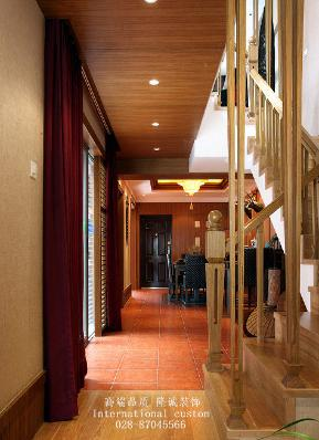 泰式 别墅 白领 收纳 小资 舒适 温馨 旧房改造 楼梯图片来自fy1831303388在三利宅院的分享