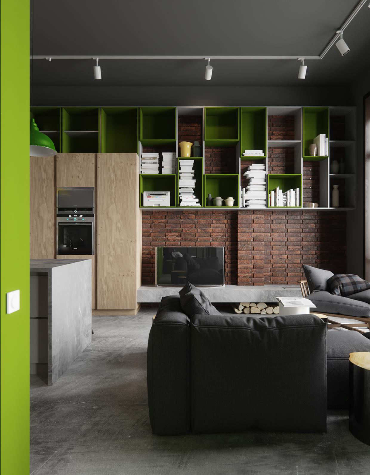 简约 日式 工业风 农光里 旧房改造 80后 二居 京扬尚赫 北京装修 厨房图片来自京扬尚赫装饰设计中心在农光里64平米日式工业风的分享