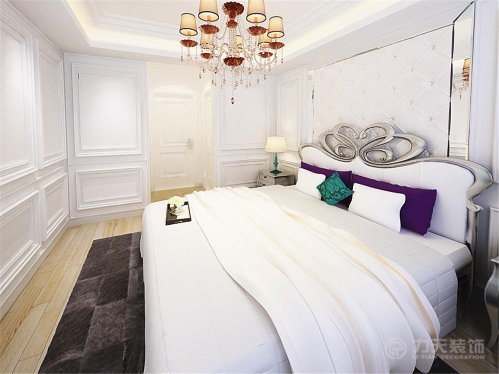三居 欧式 白领 收纳 80后 小资 天地源欧築 卧室图片来自阳光放扉er在力天装饰-天地源欧築142.03㎡的分享