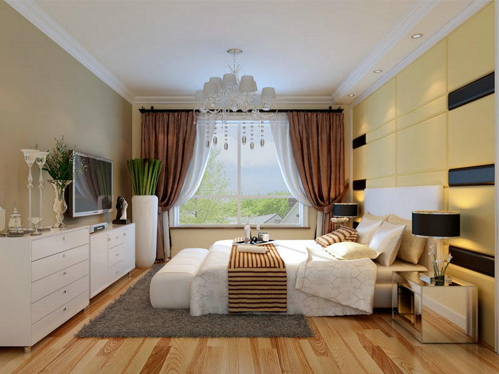 卧室图片来自业之峰装饰旗舰店在跳动的音符的分享