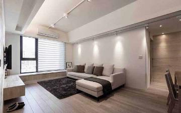 79平米北欧风格二居室装修案例