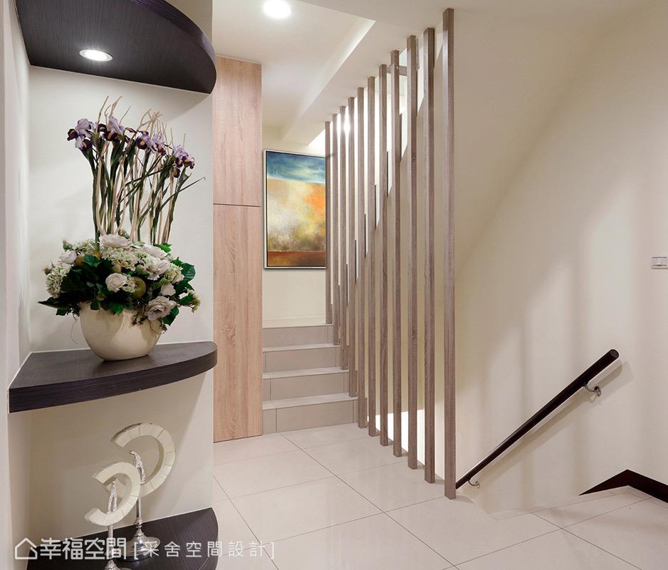 别墅 简约 现代 休闲 收纳 楼梯图片来自幸福空间在254平度假天堂凝聚起家族情感的分享