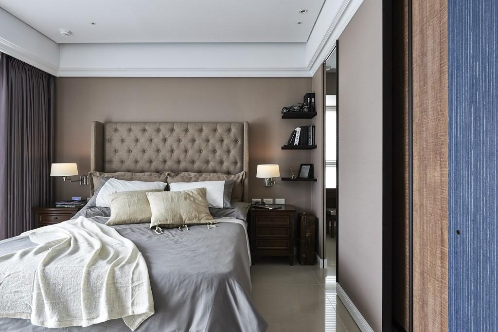 简约 三居 小资 卧室图片来自武汉全有装饰在复地东湖国际158现代简约风的分享