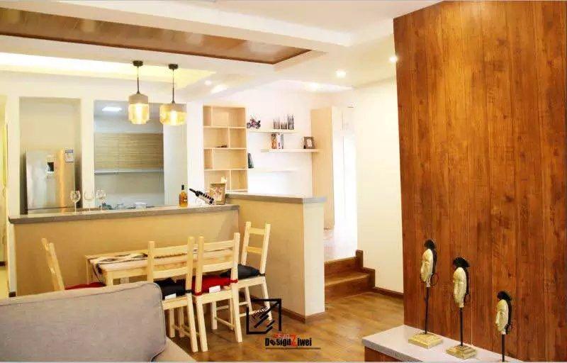 客厅图片来自四川幸福魔方装饰在【幸福魔方装饰】日式原木风格的分享