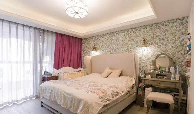 简约 欧式 田园 混搭 二居 三居 别墅 白领 收纳 卧室图片来自实创装饰晶晶在105㎡欧式大两居的分享
