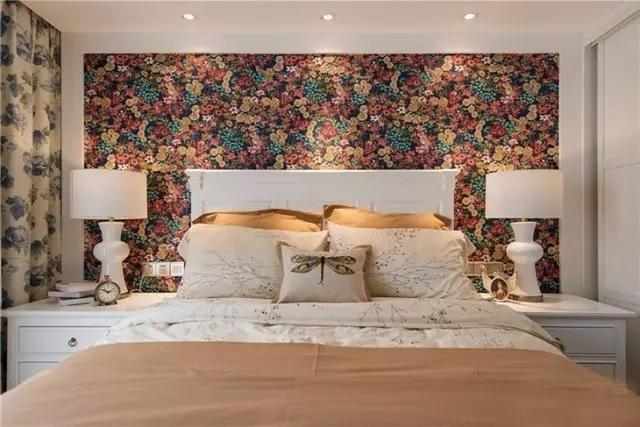 三居 二居 混搭 田园 欧式 简约 白领 收纳 旧房改造 卧室图片来自实创装饰晶晶在85后夫妻的79㎡两居室的分享