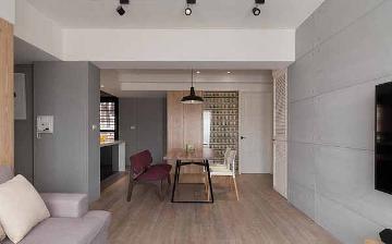 金丰小区92平北欧风格二居室装修
