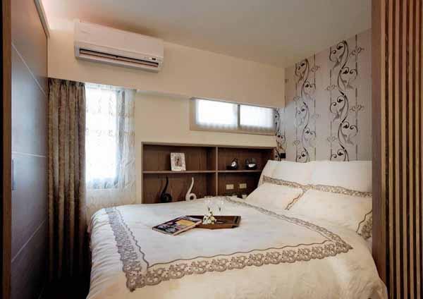 二居 旧房改造 卧室图片来自上海潮心装潢设计有限公司在69平米二居室装修发挥空间最大值的分享