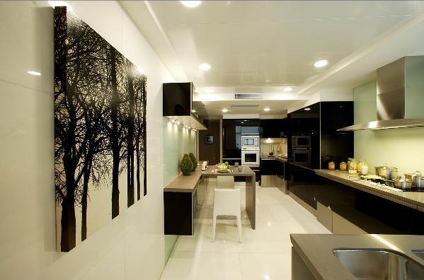 现代简约风格的客厅