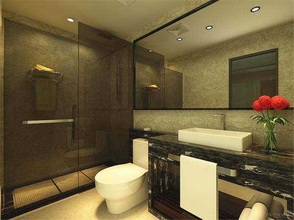 厨房也做成敞开式的,方便业主一个人回家的时候简单的用餐,使整个空间特别的开阔