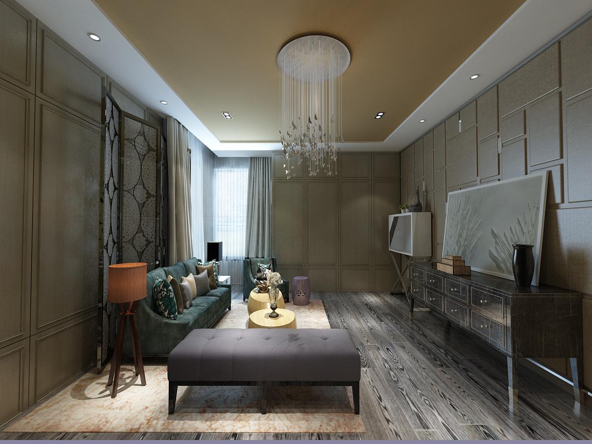 简约 欧式 一居 客厅图片来自轻舟装饰-90后的华仔在北苑家园-66平米-简欧风格的分享