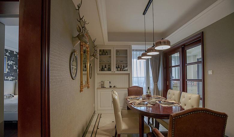 餐厅图片来自家装大管家在惬意清雅 145平新中式时尚3居室的分享
