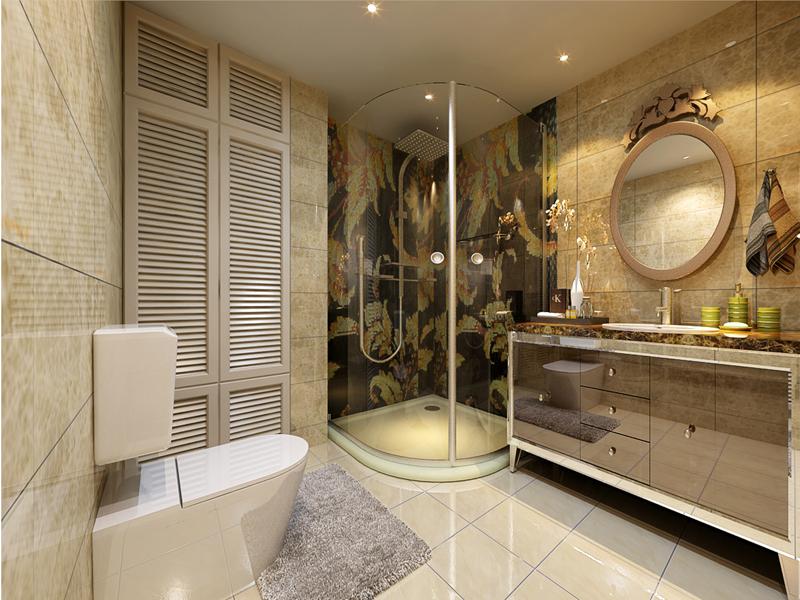 卫生间图片来自业之峰装饰旗舰店在最爱轻美式的分享