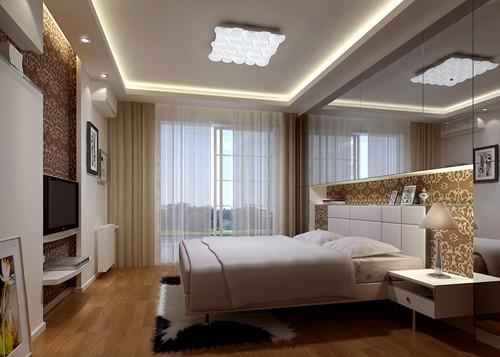 现代 三居 E家E户 卧室图片来自武汉全有装饰在奥山世纪城90平现代风格的分享