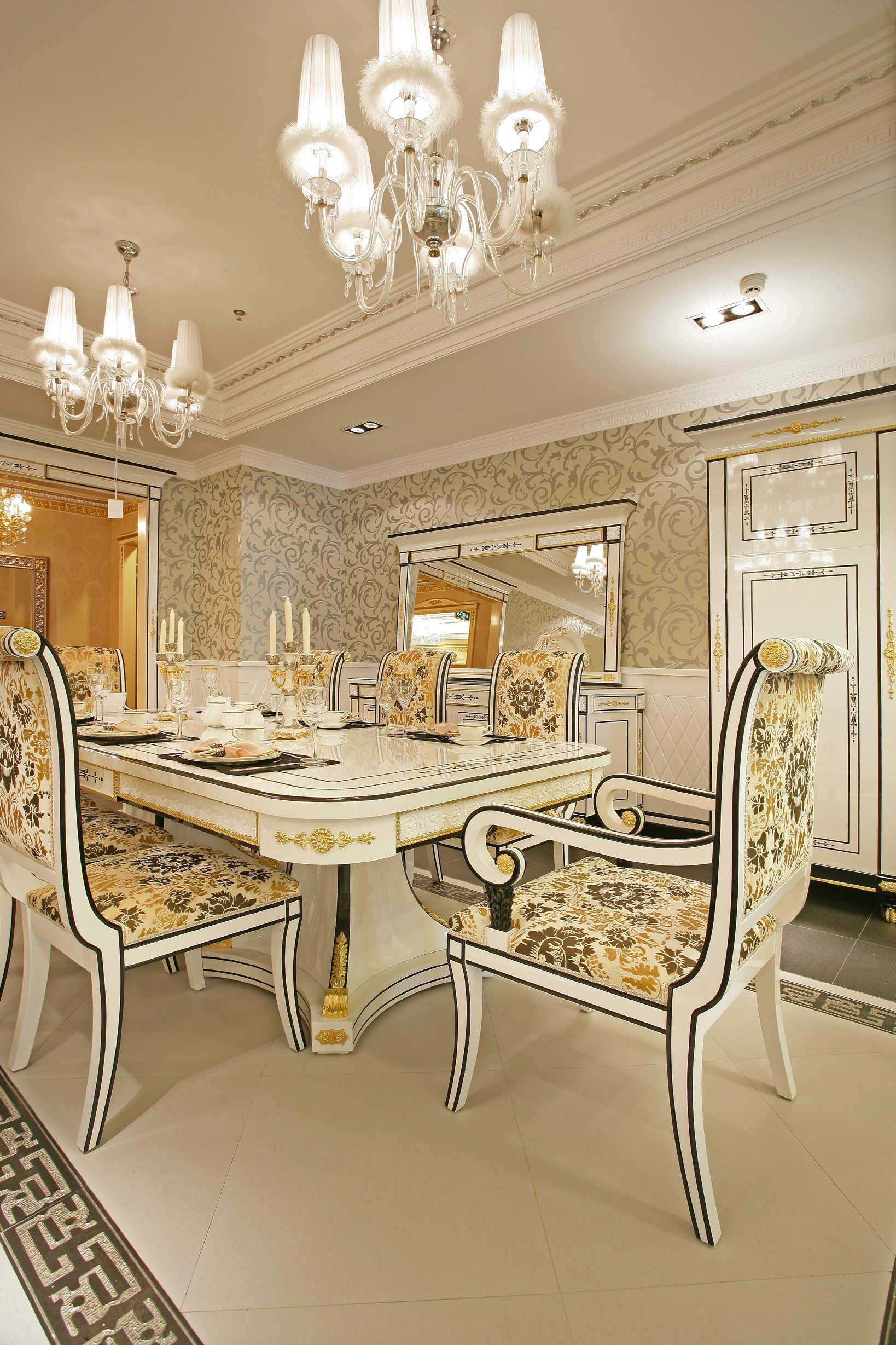 餐厅图片来自北京紫禁尚品国际装饰kangshuai在首城汇景湾的分享