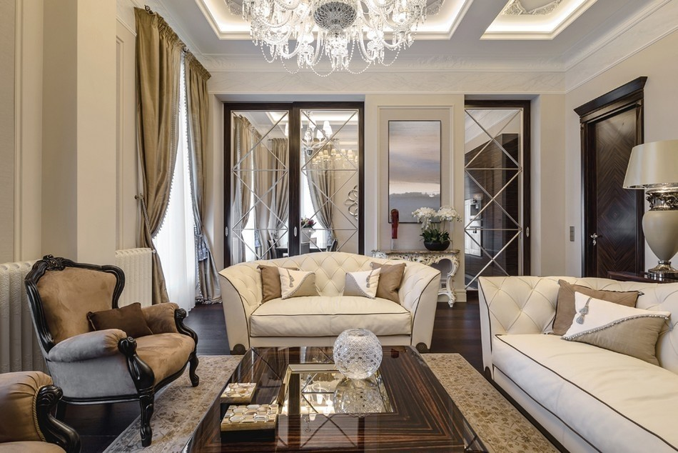 新古典 三居 E家E户 客厅图片来自武汉全有装饰在百瑞景演绎新古典的分享