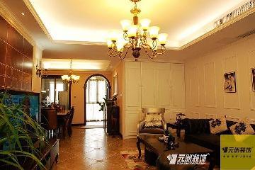 东湖湾高贵欧式婚房设计实景图
