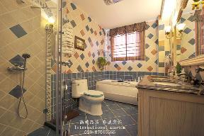 别墅 美式 舒适 温馨 收纳 80后 旧房改造 卫生间图片来自fy1831303388在香瑞湖的分享