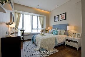 中式 温馨 舒适 三居 白领 收纳 旧房改造 80后 小资 卧室图片来自fy1831303388在中海龙湾半岛的分享