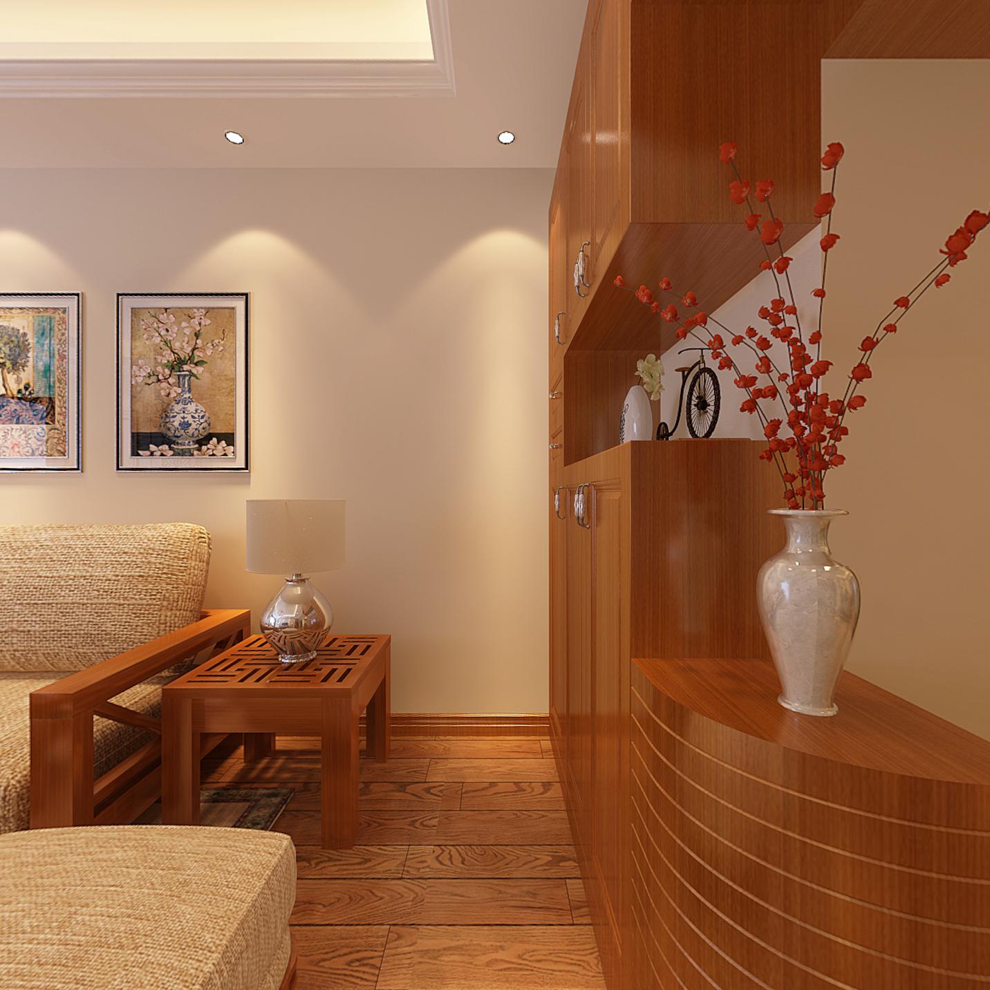 三居 客厅图片来自武汉一号家居网装修在华锦花园春天125平三房两厅的分享