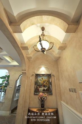 别墅 美式 舒适 温馨 收纳 80后 旧房改造 玄关图片来自fy1831303388在香瑞湖的分享