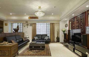 110平混搭三居室装修设计案例