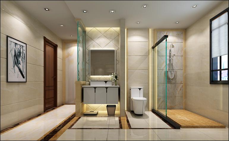 卫生间图片来自居众装饰东莞分公司在居众装饰-悦榕东岸-现代-176㎡的分享