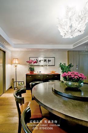 三居 收纳 旧房改造 80后 舒适 温馨 中式 餐厅图片来自fy1831303388在时代豪庭的分享