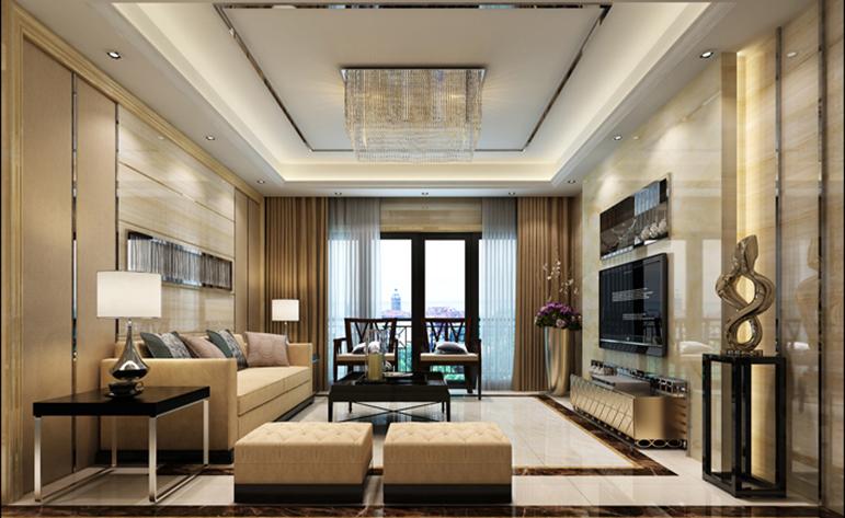客厅图片来自居众装饰东莞分公司在居众装饰-悦榕东岸-现代-176㎡的分享