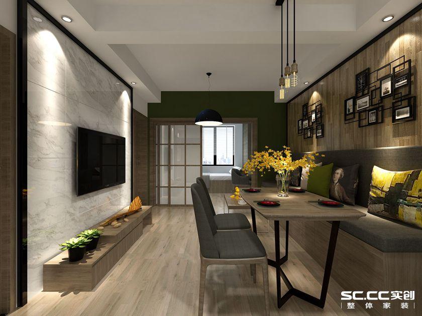 简约 混搭 二居 白领 收纳 旧房改造 80后 小资 客厅图片来自孙进进在两居64㎡后现代--实用小户型的分享