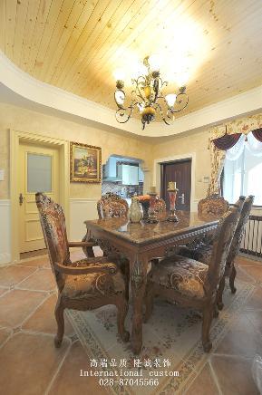别墅 美式 舒适 温馨 收纳 80后 旧房改造 餐厅图片来自fy1831303388在香瑞湖的分享