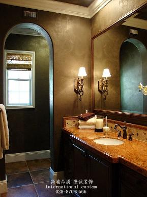 三居 白领 收纳 旧房改造 美式 舒适 温馨 80后 小资 卫生间图片来自fy1831303388在中铁奥维尔的分享