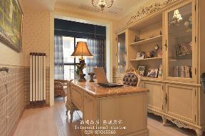 别墅 美式 舒适 温馨 收纳 80后 旧房改造 书房图片来自fy1831303388在香瑞湖的分享