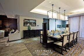 中式 温馨 舒适 三居 白领 收纳 旧房改造 80后 小资 餐厅图片来自fy1831303388在中海龙湾半岛的分享