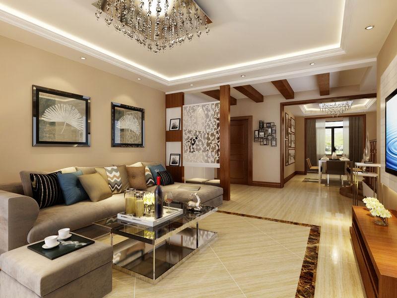 简约 三居 梵客家装 客厅图片来自天津梵客家装实景体验馆在137米兰金狮平|现代简约风格的分享