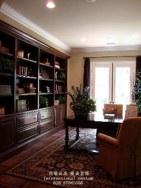 三居 白领 收纳 旧房改造 美式 舒适 温馨 80后 小资 书房图片来自fy1831303388在中铁奥维尔的分享