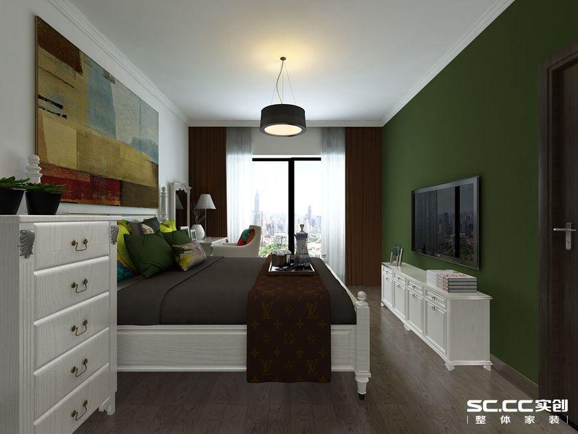 简约 混搭 二居 白领 收纳 旧房改造 80后 小资 卧室图片来自孙进进在两居64㎡后现代--实用小户型的分享
