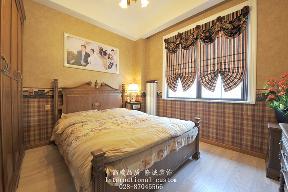 别墅 美式 舒适 温馨 收纳 80后 旧房改造 卧室图片来自fy1831303388在香瑞湖的分享