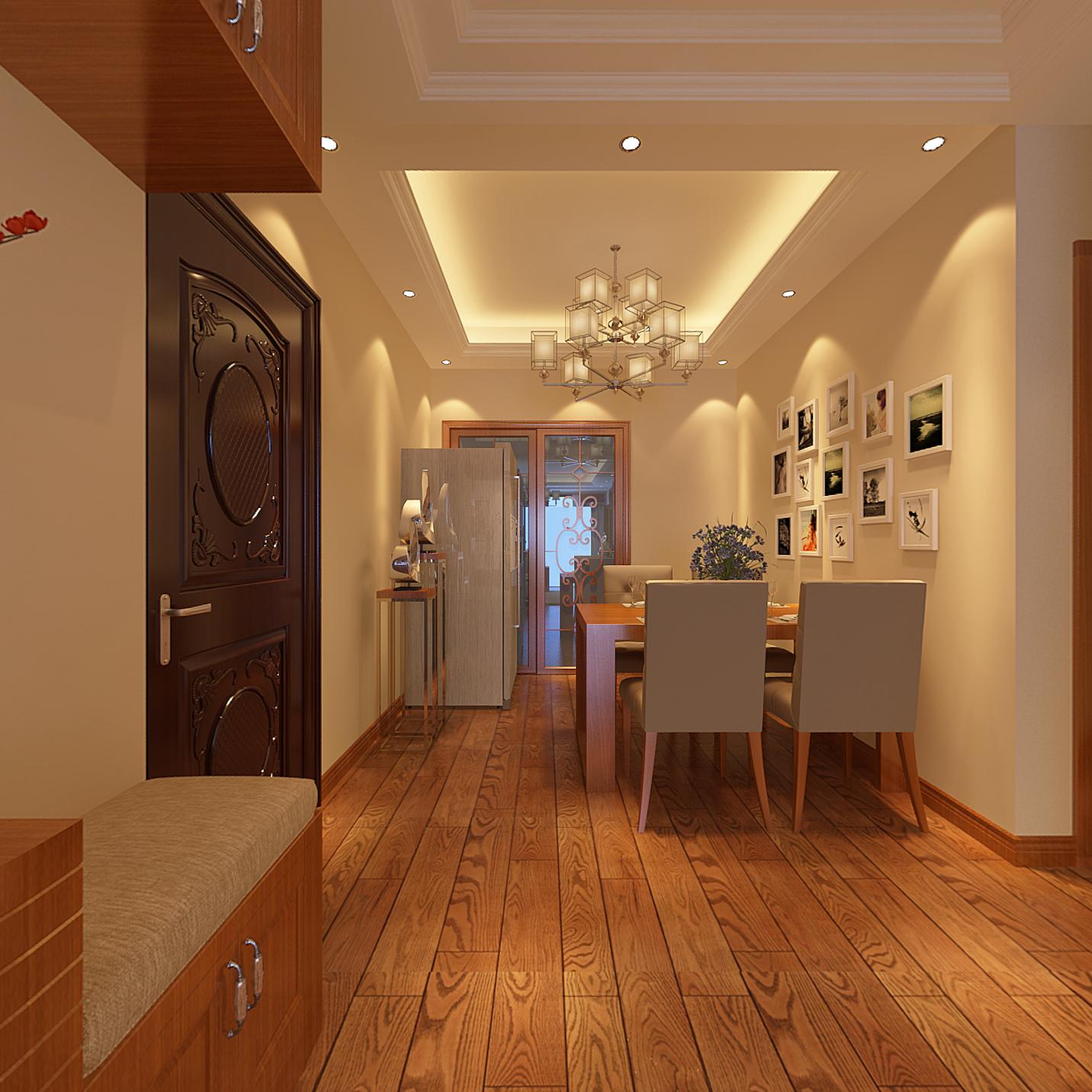 三居 餐厅图片来自武汉一号家居网装修在华锦花园春天125平三房两厅的分享