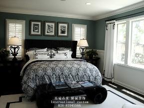三居 白领 收纳 旧房改造 美式 舒适 温馨 80后 小资 卧室图片来自fy1831303388在中铁奥维尔的分享