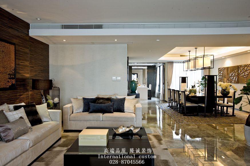 中式 温馨 舒适 三居 白领 收纳 旧房改造 80后 小资 客厅图片来自fy1831303388在中海龙湾半岛的分享