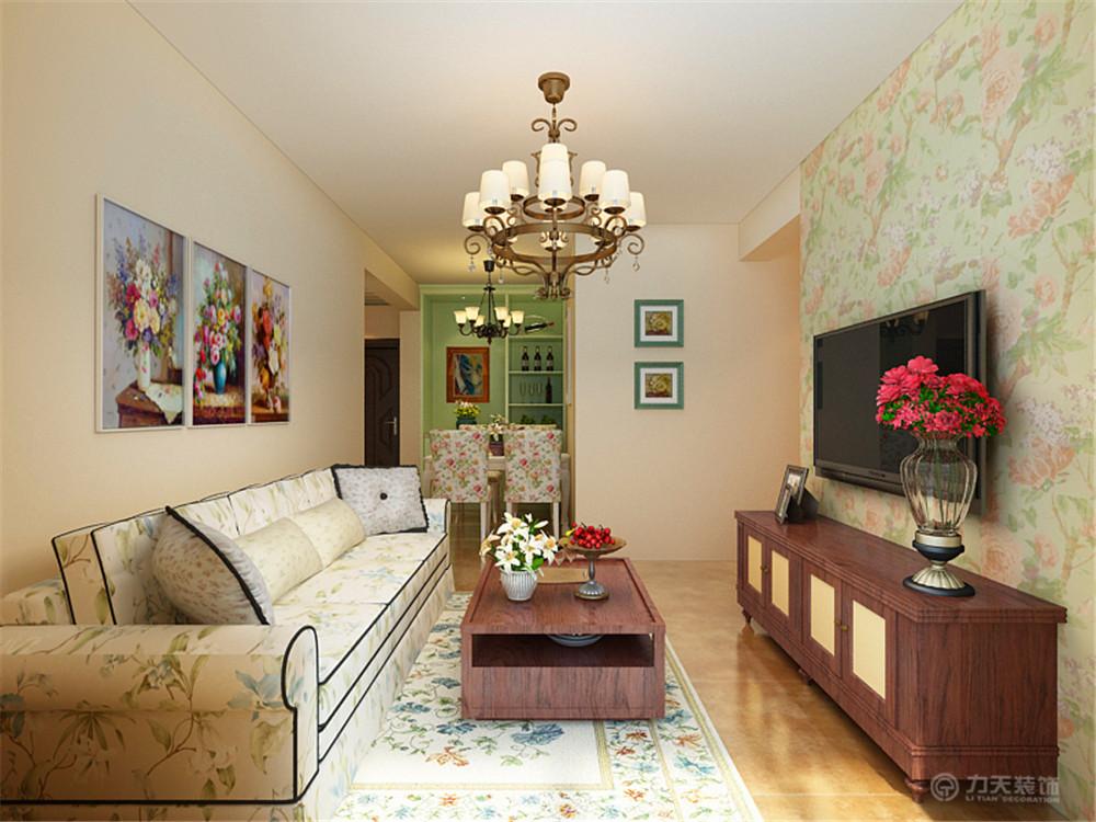 客厅图片来自阳光力天装饰在田园   欣悦家园  88.56㎡的分享