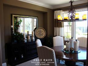 三居 白领 收纳 旧房改造 美式 舒适 温馨 80后 小资 餐厅图片来自fy1831303388在中铁奥维尔的分享