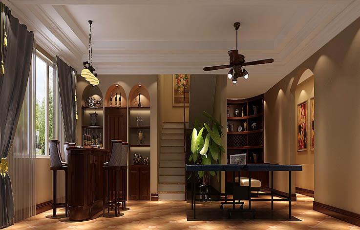 别墅 欧式 装修 设计 楼梯图片来自张邯在高度国际-保利垄上的分享