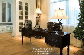 简约 欧式 别墅 旧房改造 舒适 温馨 收纳 书房图片来自fy1831303388在雅居乐简欧实景照片的分享