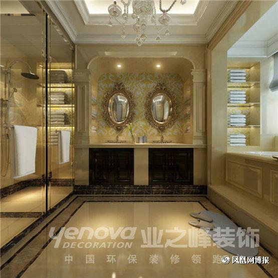 欧式 四居 卫生间图片来自太原业之峰小李在半山国际的分享