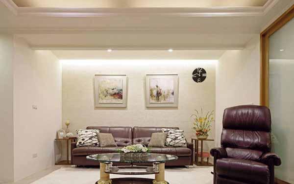 三居 小资 客厅图片来自上海潮心装潢设计有限公司在静安新城129平美式乡村三室装修的分享