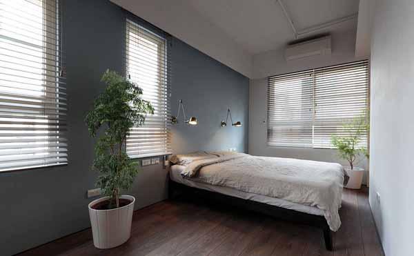 简约 旧房改造 80后 卧室图片来自上海潮心装潢设计有限公司在静安新城59平简约风格一居室装修的分享
